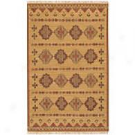Surya Jewel Tone Southwestern Gold Wool Rug