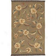 Surya Jeweltone Olive Hand-woven Wool Rug