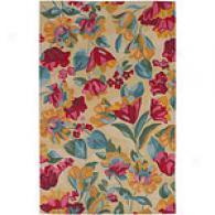 Surya Joanne Floral Hand-tufted Wool Rug