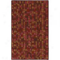 Surya Mosaic Brick Hand Tufted Wool Rug