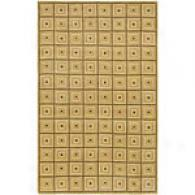 Surya Mugal Gold Squares Hand-tufted Wool Rug