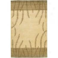 Surya Mugal Grey Hand Knotted Wool Rug