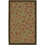Surya Puzzle Piece Leaves Hand Tufted Wool Rug