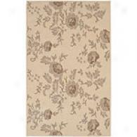 Surya Rustica Coolection Naya Ivory Floral Rug