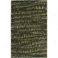 Surya Safari Black Hand Tufted Nz Wool Rug