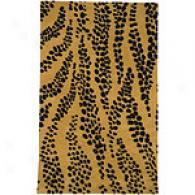 Surya Safari Mustard Hand Tufted Nz Wool Rug