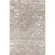 Surya Shibui Ivory Hand Knotted Nz Wool Rug