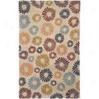 Surya Splash Floral Hand Tufted Wool Rug