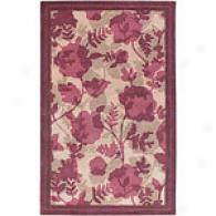 Surya tSella Smith Ii Beige/wine Hand Nz Wool Rug