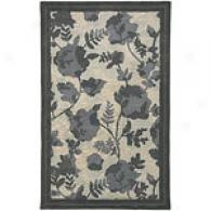 Surya Stella Smith Ii Blue Floral Wool Rug
