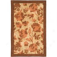 Surya Stella Smith Ii Rust Floral Hand Tufted Nz W
