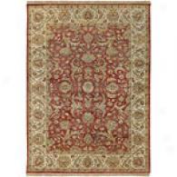 Surya Timeless Dark Burgundy Hand Knot Nz Wool Rug