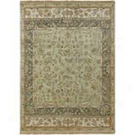 Surya Timeless Light Green Hand Knotted Wool Rug