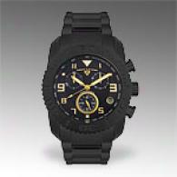 Swisx Legend Mens Black Chronograph Watch