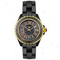 Swiss Legend Mens Ceramic Dial Watch