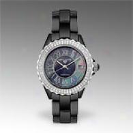 Swiss Legend Mens Ceramic 1.04 Cttw. Diamond Watch