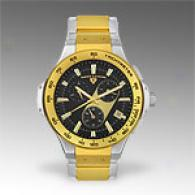 Swiss Legend Mens Chrono Stainless Two Tone Watch