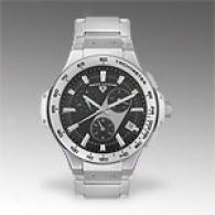 Swiss Legend Mens Chrono Stainless Steel Watch
