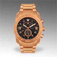 Swiss Legend Mens Ros3 Gold Chronograph Watch