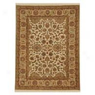 Talmage Gold & Tan Hand Knotted Wool Rug