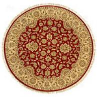 Talmage Red & Sand Hand Knotted Wool Rug
