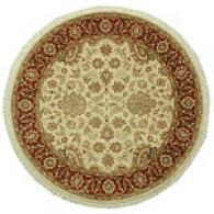 Talmage Sand & Rust Hand Knotted Wool Rug