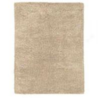Taupe Hand-tufted Wool Area Rug