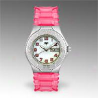 Technomarine Women's A0nea X Hot Pink Gel Watch