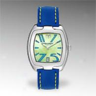 Technomarine Womens Blje Building Yellow Dial Watch