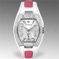 Technomarine Womens Butterfly Pave Watch