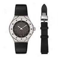 Technomarine Women's Brilliant Watch Dtlsb/blk