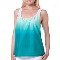 Theory Mahira Dip Dye Top