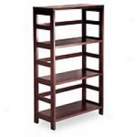 Three Tiered Beechwood Bookshelf