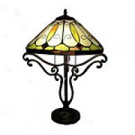 Tiffany Classic Diamond Synopsis Lamp