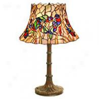 TiffanyS tyle Open Top Bird Lamp