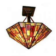 Tiffany Sunburst Ceiling Lamp