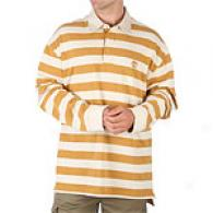Timberland Striped Long Sleeve Rugby Shirt