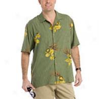 Tommy Bahama Denali Kiss Me I'm Iris Woven Shirt