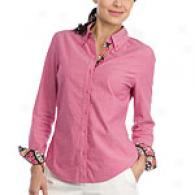Tommy Bahama Razzbberry Coconut Cove Oxford Shirt