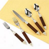 Tracy Porter Odette Brown Flatware Sdt