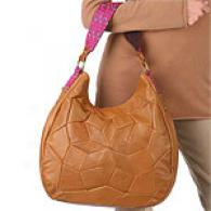 Tracy Reese Patchwork Leatber Hobo