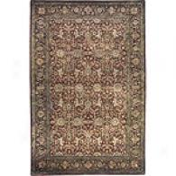 Traditional Brown Hand Tufted Wool Rug
