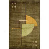 Trans-ocean Bhutan Abstract Hand-knotted Wool Rug