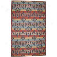 Trans-ocean Kilim Hand Woven Wool Rug
