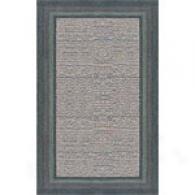 Trans-ocean Lago Hand Tufted Wool S~ Blue Rug