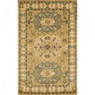 Trans-ocean Ottoman Hand-knottted Wool Rug