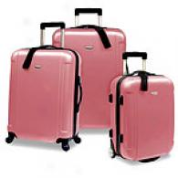 Travelers Choice 3pc Hard Case Luggage Set