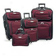 Traveler's Choice 4pc Amsterdam Expandable Luggage