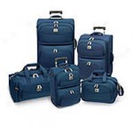 Travelers Choice Edinburg 5pc Luggage Set