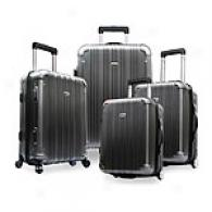 Travelers Choice Luxemburg 4pc Hard Luggage Set